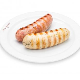 Угорські ковбаски з копченого м'яса