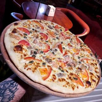 Піца Сальмоне 30 см