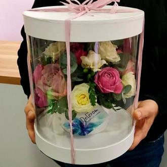 """Квіти в коробці """"Акваріум"""""""