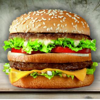 Гросбургер з сиром
